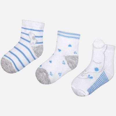 Set 3 calze neonato Mayoral
