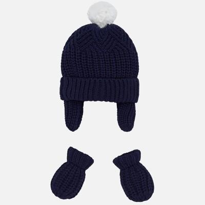 Completo cappello manopole Mayoral