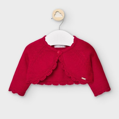 Mayoral -  Cardigan corto maglia basico