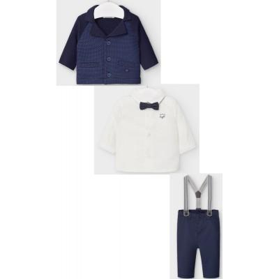 Mayoral - Completo elegante neonato con giacca