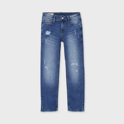 Mayoral - Pant jeans straight fit rotti