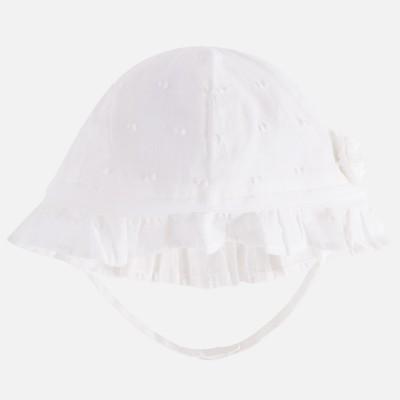 Cappello elegante plumetis bambina Mayoral